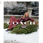 Kate Moss a pris la pose pour Coach