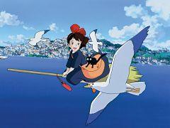 Pop up store Le Chateau Ephemere sur Kiki la petite sorciere pour les fans de mangas