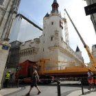 Rénovation du plus vieil hôtel de ville de France