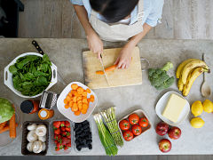 Mode de vie sain et sante : alimentation, sport et sommeil dans un sondage