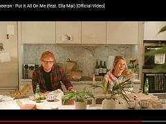 Put it all on me d Ed Sheeran, le single dispose d un clip avec Cherry Seaborn