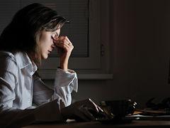 Sante des yeux, fatigue visuelle liee aux ecrans d ordinateur au bureau