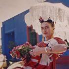 Frida Kahlo dans une exposition digitale