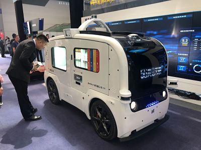 Vehicules de livraison sans chauffeur, les camionnettes autonomes Neolix prisees
