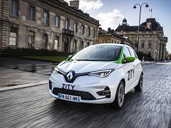 Zity, service d autopartage pour louer une voiture Renault a Paris