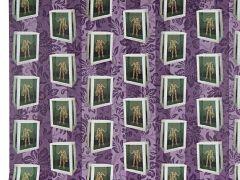 Papier Peint de David Bowie, des creations du musicien aux encheres chez Sotheby s