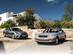 Marque de luxe Lexus de Toyota, la filiale du fabricant japonais en France