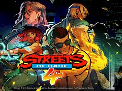 Jeu video Streets of Rage, sortie du 4e opus de la franchise de jeux beat em up