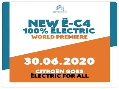 Citroën dévoile son nouveau modèle électrifiée « ë-C4 »
