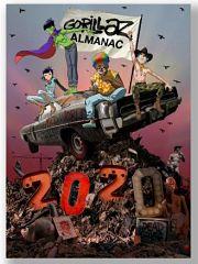 Bande dessinee Gorillaz Almanac sur le groupe musical chez Z2 Comics