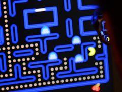 Jeu Pac Man, le titre de l editeur japonais Namco fete ses 40 ans