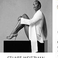 Stuart Weitzman recrute Serena Williams en tant qu'ambassadrice