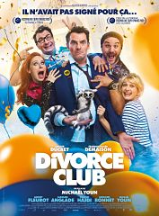 Comedie Divorce Club de Michael Youn au top du box office