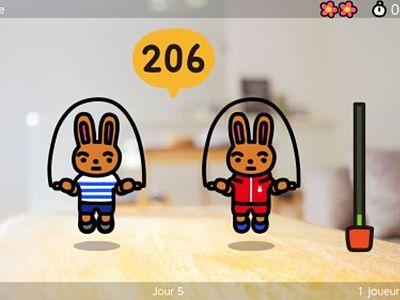 Jump Rope Challenge, jeu video de sport sur la console Switch de Nintendo