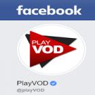 PlayVOD propose l'actu ciné sur Facebook