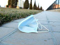 Masques et gants, campagne de l Ademe pour prevenir la pollution