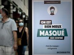 Covid 19, port du masque obligatoire dans lieux publics clos au risque d une amende