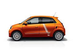 Renault Twingo electrique Vibes, voiture du fabricant francais en serie limitee