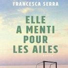 L'écrivaine Francesca Serra et son premier ouvrage