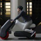 Poimo, le scooter électrique gonflable innovant des Japonais