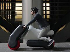 Poimo, scooter electrique de l Universite de Tokyo pour la mobilite