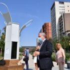 Pollution atmosphérique: du mobilier installé dans des villes