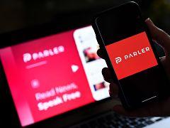 Parler, le reseau social disponible sur Android et Apple