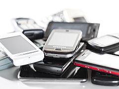 Smartphones, telephone non utilise en France dans une etude