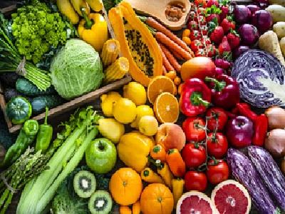 Des fruits et legumes