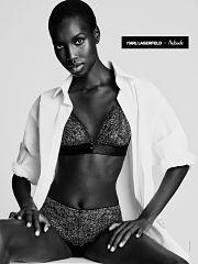 Karl Lagerfeld et Aubade, une collection de lingerie et de corseterie