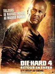 Film Die Hard 4, la bande annonce devant celles des nouveaux films